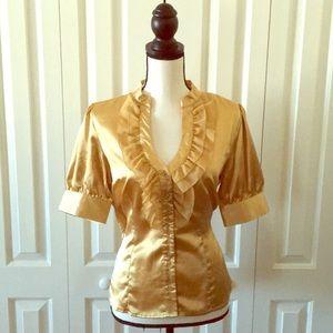 Tops - Gold shirt